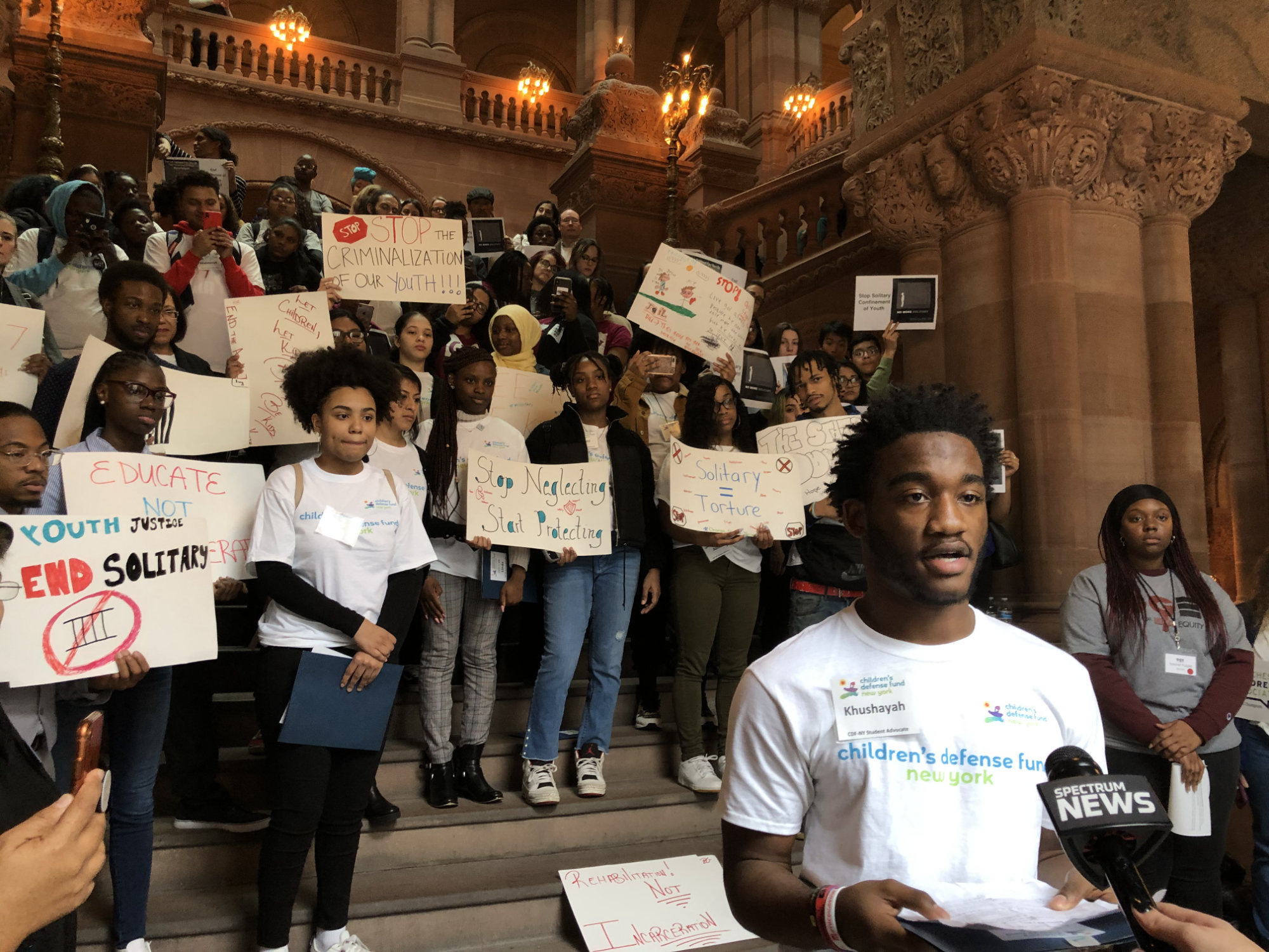 2020 Youth Justice Rally- Khushayah Morris